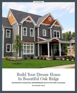 Oak Ridge Homes Houses For Sale Saratoga Springs